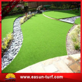 Hierba falsa barata artificial de la hierba de alfombra de la decoración de la hierba