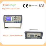 De gloednieuwe Micro- van de Precisie Meter van het Ohm om Weerstand (AT516) Te contacteren