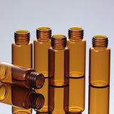 5ml botella de aceite esencial de vidrio ámbar para Cosmética