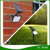 Luz solar del jardín del césped de 48 LED de la luz solar del proyector