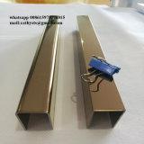 Tipo ajuste del espejo U del cepillo del metal de los Ss 304 del azulejo del acero inoxidable