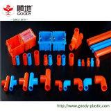 Tubos y guarniciones coloreados del conducto del alambre del tubo del PVC