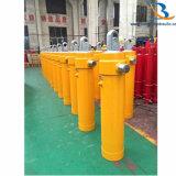 Cilinder van de Lift van de Leverancier van China de Telescopische Hydraulische die voor de Vrachtwagen van de Stortplaats wordt gebruikt