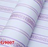 Tissu de mur, papier peint de PVC de tissu de mur, papier de mur de PVC,