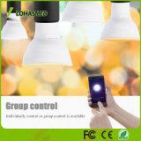 Esteuerte WiFi intelligente LED Glühlampe-melodische Weiß-(2000-6500K) gleichwertige 5W GU10 LED Scheinwerfer-Birne des Smartphone APP-50W der Halogenbirne-