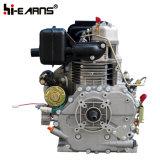 10HP dieselmotor met de Spitse Zilveren Kleur van de Schacht (HR186FAE)