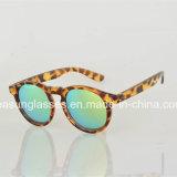 卸売の方法人の女性Eyewear 2017の円形ミラーのサングラス