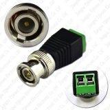 Mini co-axial Cat5 ao adaptador video do conetor do Balun da câmera BNC UTP para o sistema do CCTV