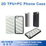 Gepersonaliseerde 2D iPhone 7/8 van de Dekking van de Douane van het Geval van de Telefoon van de Sublimatie Lege