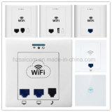Panel de 86 empotrables en la pared 300Mbps Wireless Access Point (SC-PW32520), PoE