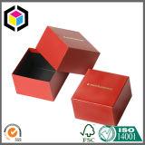 Kundenspezifische Farbe, die Schaumgummi-Papppapier-Geschenk-Schmucksache-Kasten sich schart