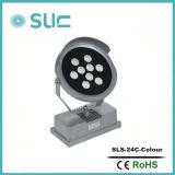 Nuevos 24W impermeabilizan el proyector al aire libre de la baja tensión LED del LED