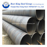 Il tubo d'acciaio a spirale per la costruzione dell'oleodotto, Pipe della l$signora Iron Tube Saw sommerge il tubo della saldatura ad arco
