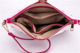 PU 가죽 숙녀 지갑 어깨에 매는 가방을 인쇄하는 형식 꽃