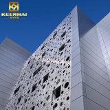 Décoratifs en aluminium Panneau de façade perforée