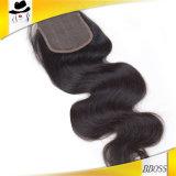 Польностью бразильский Frontal шнурка волос девственницы