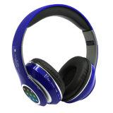 Gran Auricular Bluetooth FM inalámbrico de LED intermitente ilumina los auriculares
