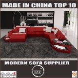 Ultimo U sofà di figura di stile della casa della mobilia europea