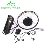 Greenpedel 36V 500W 48V 750Wの電気バイクのGearlessハブモーター防水変換キット