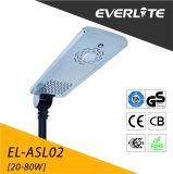 Everlite 1つの太陽街灯の熱い販売の太陽LEDの街灯30Wすべて