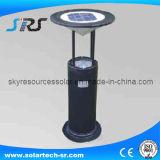 Sensor de movimiento de alta potencia en el jardín de luz de linterna solar al aire libre