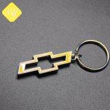 Los proveedores de China de hierro en 3D coche Logo Llavero de metal personalizados
