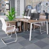 Mobilier moderne en bois Staright Tableau forme station de travail de bureau