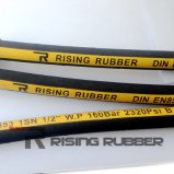 Tubo flessibile idraulico di gomma del tubo flessibile idraulico per BACCANO 1te 2te 3te di SAE R3 R6