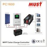 高い追跡の効率PC1600 MPPTの太陽料金のコントローラ