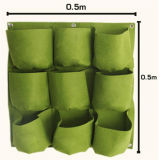Vertical Felt Garden Wall Living room To plant Gwo Bags