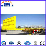 Do recipiente reboque Flatbed Semi com o eixo 3