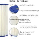 Cartucho de filtro plisado entero de la piscina del poliester del papel lavable de la casa