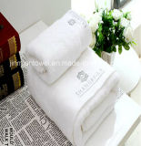 /Hotel/SPAベストセラーの白く明白な染められたホームタオル、浴室タオル、手タオル