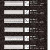 Polyurethan-aufwändige Kronen-formengesims PU dekoratives Hn-8054