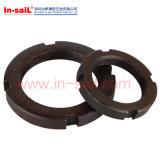 La norme DIN1816 Ecrous ronds avec trous de goupille à l'intérieur