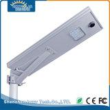 Luz de calle solar integrada al aire libre de la aleación de aluminio de IP65 20W LED
