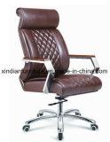 Верхнее кожаный 0Nисполнительный вращающееся кресло для офиса