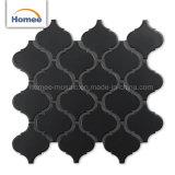 mattonelle di ceramica del Matt di modo di Arabesque di mosaico delle mattonelle di figura nera decorativa della lanterna