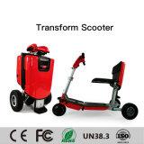 Il motorino pieghevole di mobilità di Imoving X1, veicolo elettrico del motociclo, viaggia motorino elettrico, piegante la bici elettrica