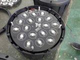 18*10W RGBW 4in Plastic PARI 1indoor kan aansteken