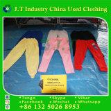Hochwertigerer verwendeter kleidender starker Baumwollsport in verwendeter Kleidung