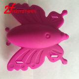 Piezas de goma moldeadas del plástico de silicón