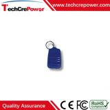 Tag RFID imperméable à l'eau passif de Keyfob 125kHz d'ABS de qualité avec Em4100