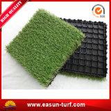 Blockierende künstliche Rasen-Matten-Fliese für Landschaft