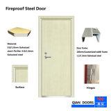 2018 BS/Ceによって証明される鋼鉄ドアが付いている熱い販売の平らな鋼鉄火評価されるドア