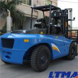 Ltmaの高品質フォークのポジシァヨナーが付いている10トンのディーゼルフォークリフト