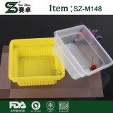 Recipientes plásticos da caixa do alimento grandes