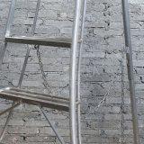 20 단계 알루미늄 연장 접히는 강철 단계 사다리