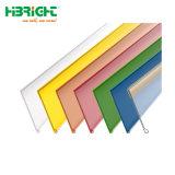 Cartão para prateleiras de plástico de PVC de supermercados Adehsive tiras de dados para a prateleira