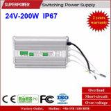 Alimentazione elettrica impermeabile costante di commutazione di tensione 24V 200W LED del driver del LED IP67